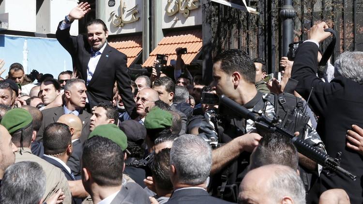 سعد الحريري يعلن نيته البقاء في لبنان