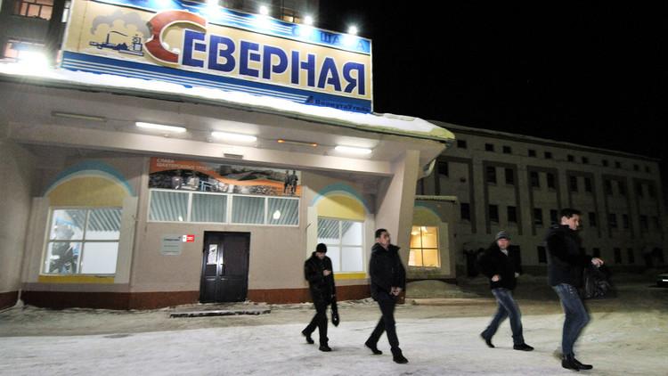 ارتفاع حصيلة ضحايا حادث انهيار المنجم في شمال روسيا إلى 4 قتلى