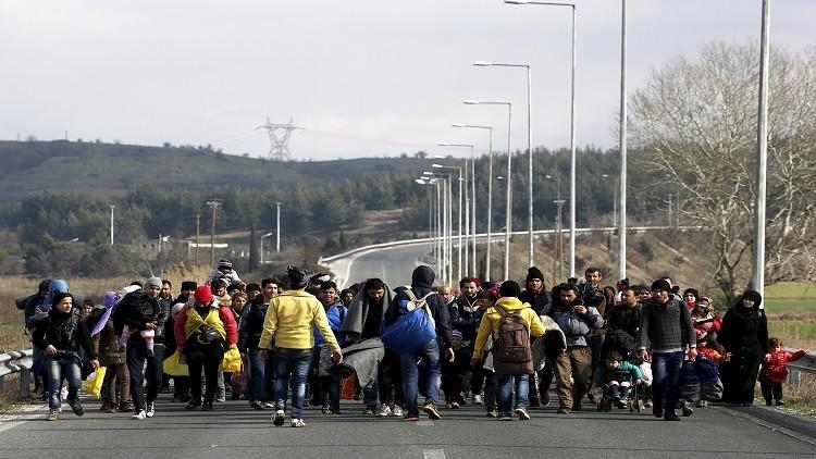 كرواتيا تحدد عدد المهاجرين العابرين لأراضيها
