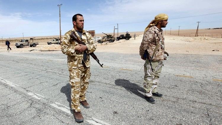 مقتل 7 جنود ليبيين في اشتباكات مع