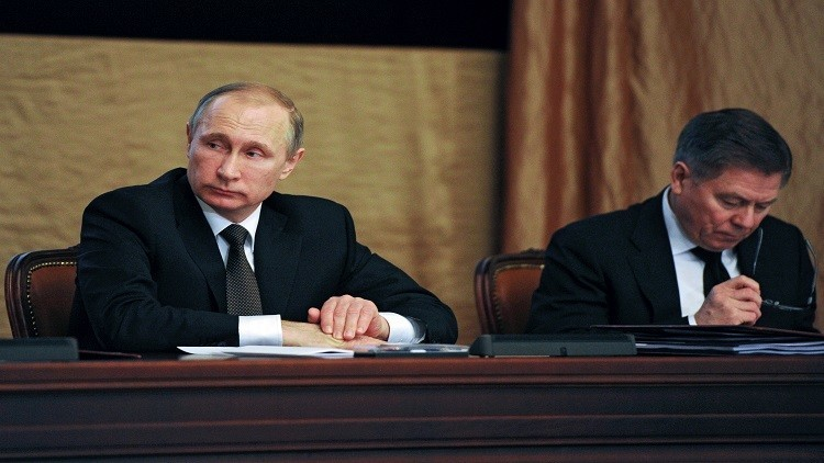 بوتين: الحرب على التنظيمات الإرهابية في سوريا ستستمر بكل حزم بمعزل عن الهدنة