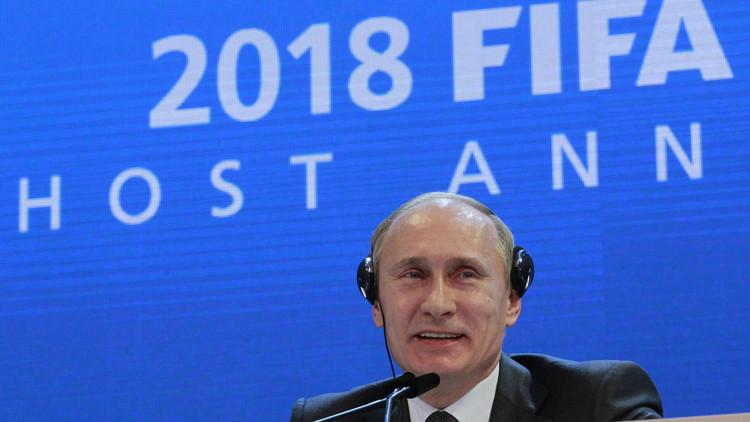 بوتين يؤكد استعداد روسيا لمزيد من التعاون مع الفيفا