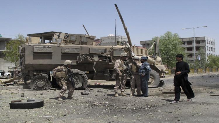 قتلى وجرحى بانفجار عبوة ناسفة جنوبي أفغانستان