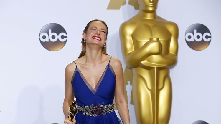 بري لارسون تحصد أول لقب أوسكار عن فئة أفضل ممثلة (صور+ فيديو)