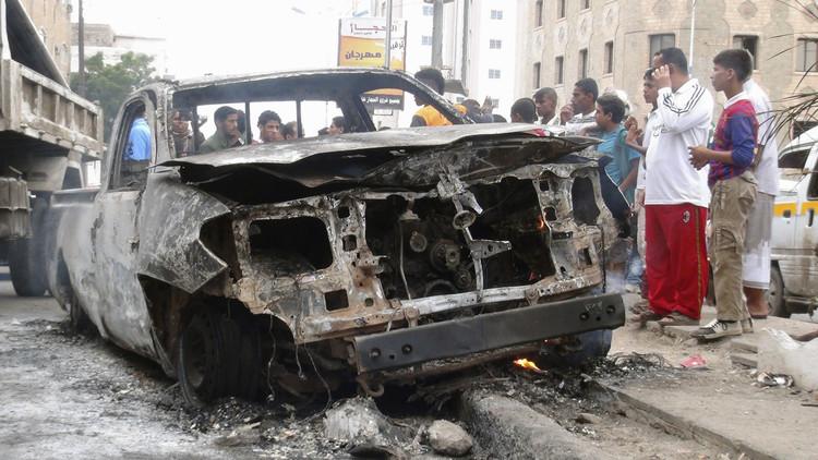 4 قتلى و5 جرحى بهجوم انتحاري في عدن