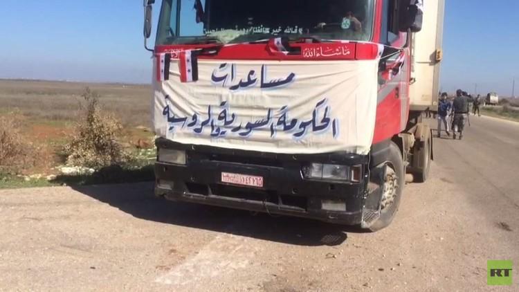 اتفاق مصالحة في محافظة درعا ومساعدات إنسانية تدخل مناطق في ريف المدينة