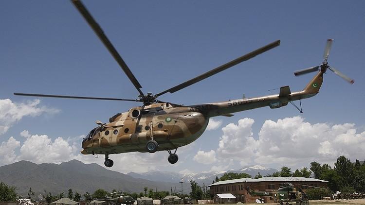 مصرع ضابط إثر تحطم مروحية عسكرية بباكستان