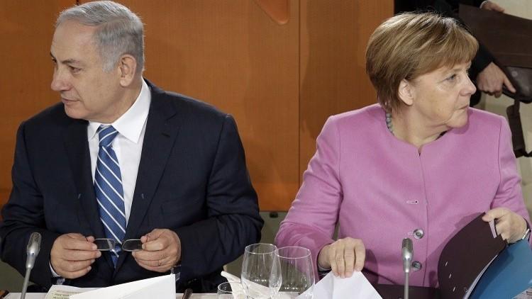 استياء ألماني من تلاعب نتنياهو بتصريحات ميركل