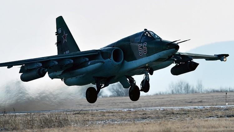 تحطم مقاتلة روسية من طراز سو-25 ومصرع قائدها جنوبي روسيا