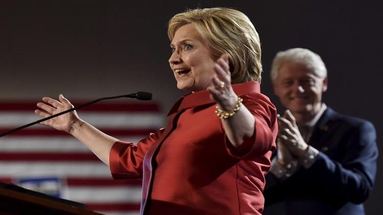 فوز ترامب بساوث كارولاينا وكلينتون بنيفادا في الانتخابات التمهيدية