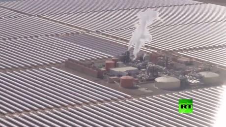 المغرب يدشن المرحلة الأولى لأكبر مشروع للطاقة الشمسية في العالم