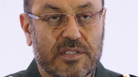 وزير الدفاع الايراني العميد حسين دهقان