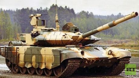 """الدبابة الروسي """"تي-90"""""""