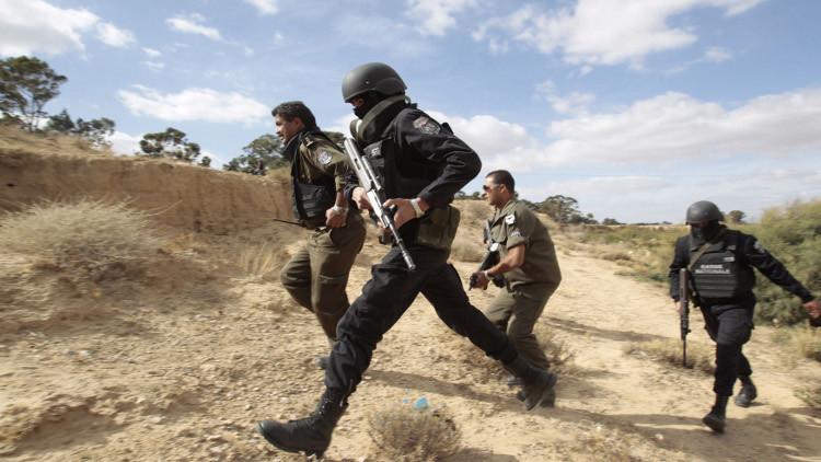 الأمن التونسي يقضي على 4 إرهابيين وسط البلاد