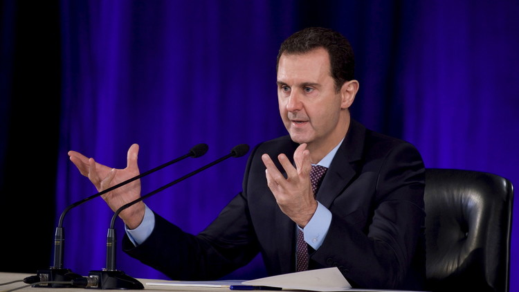 الأسد: كل ما نطلبه من المسلحين هو إلقاء سلاحهم مقابل العفو الكامل