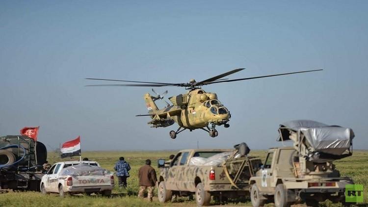إطلاق عملية عسكرية غرب سامراء وسط هروب جماعي لعناصر