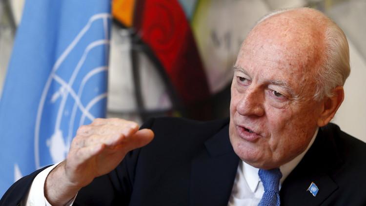 دي ميستورا لـRT: مفاوضات جنيف بشأن سوريا ستعقد في 9 من الشهر الجاري