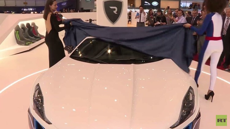 بالفيديو من معرض جنيف.. نموذج اختباري لسيارة كهربائية سوبر