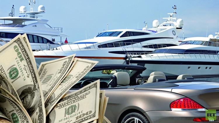 الأزمة المالية لم تمنع الأثرياء من التهافت على شراء السلع الباهظة