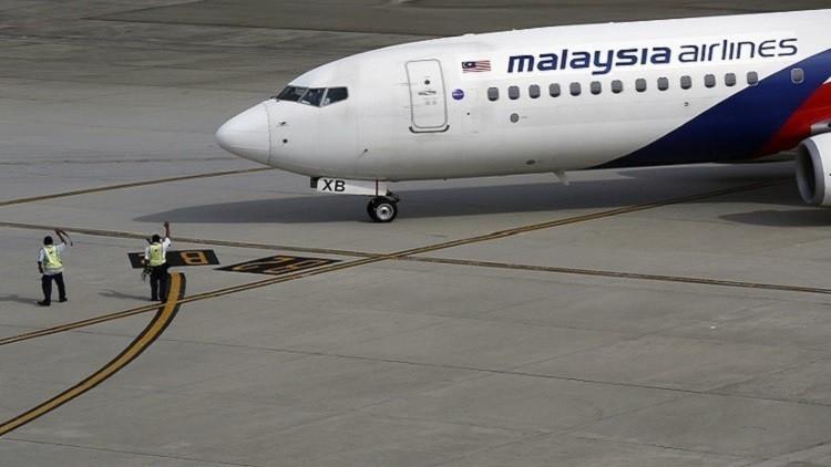 العثور على جزء من حطام الطائرة الماليزية