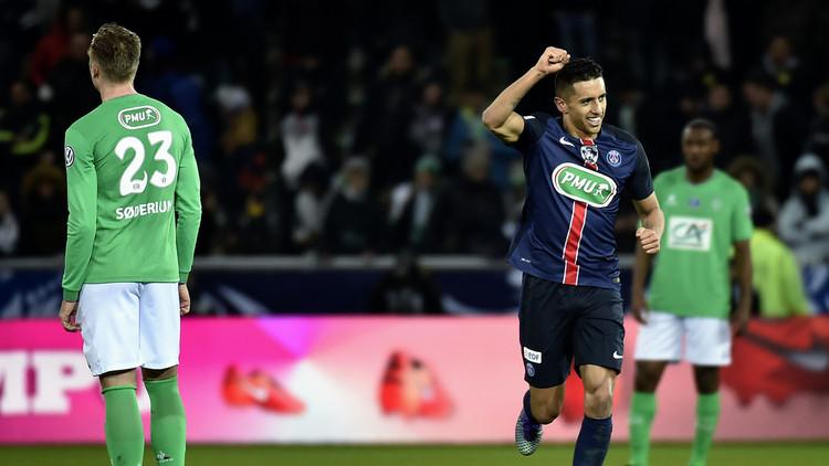 كأس فرنسا.. سان جيرمان يتخطى سانت اتيان ويتأهل للمربع الذهبي (فيديو)