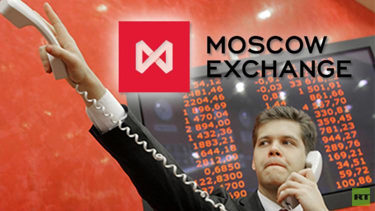 أرباح بورصة موسكو تقفز في 2015 بنحو 70%