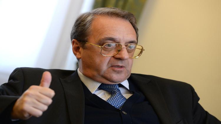 بوغدانوف يلتقي سفيري باريس وواشنطن في موسكو