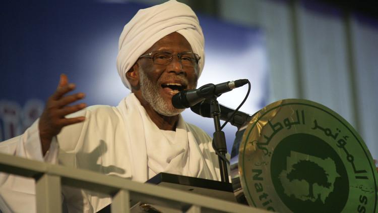 وفاة حسن الترابي رئيس حزب المؤتمر الشعبي السوداني