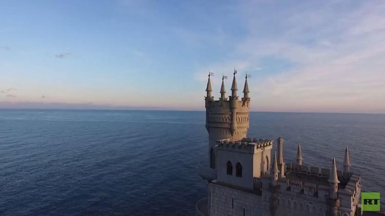 بالفيديو من روسيا.. مشاهد ساحرة بكاميرا من دون طيار لشبه جزيرة القرم
