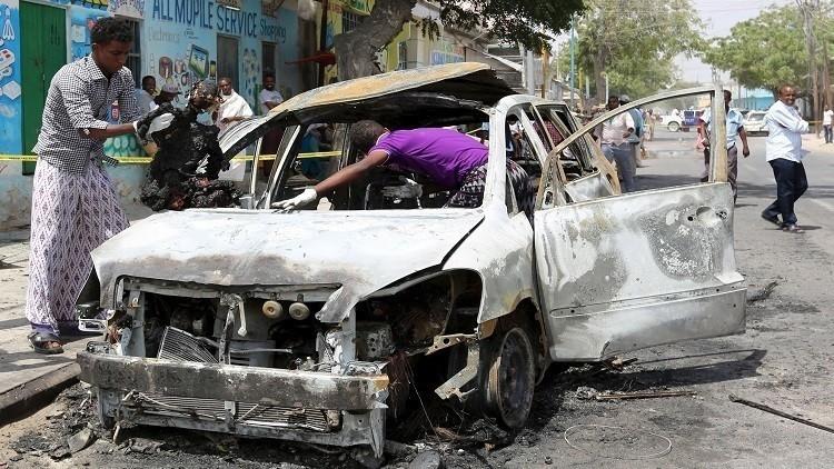 6 جرحى بانفجار حاسوب في مطار الصومال