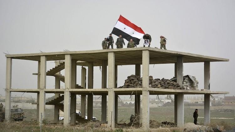 الجيش السوري يتقدم في ريف حمص