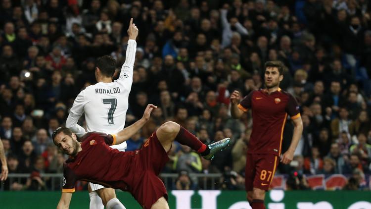 ريال مدريد يبلغ ربع نهائي دوري الأبطال من بوابة روما (فيديو)