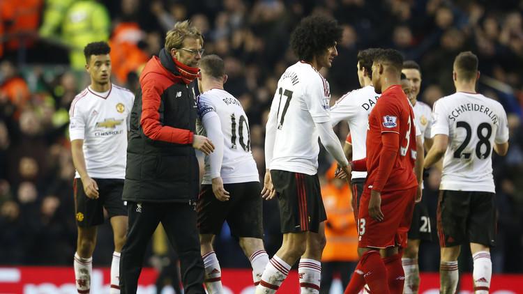 ليفربول ومانشستر يونايتد وجها لوجه لأول مرة في الدوري الأوروبي