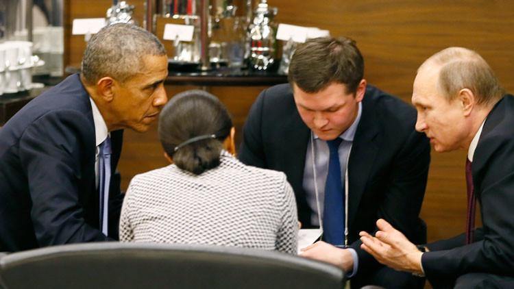 أوباما يشيد بمناقب بوتين والكرملين يأخذ المديح بالحسبان