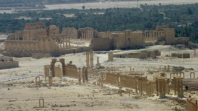 الجيش السوري يتأهب لاستعادة مدينة تدمر التاريخية