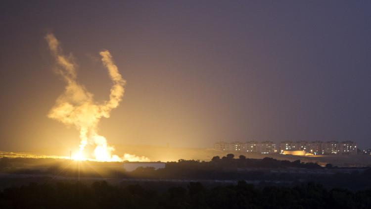 مقتل طفلين شقيقين بالغارات الإسرائيلية على قطاع غزة