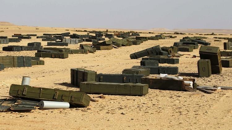 ترسانة القذافي غنائم لـ
