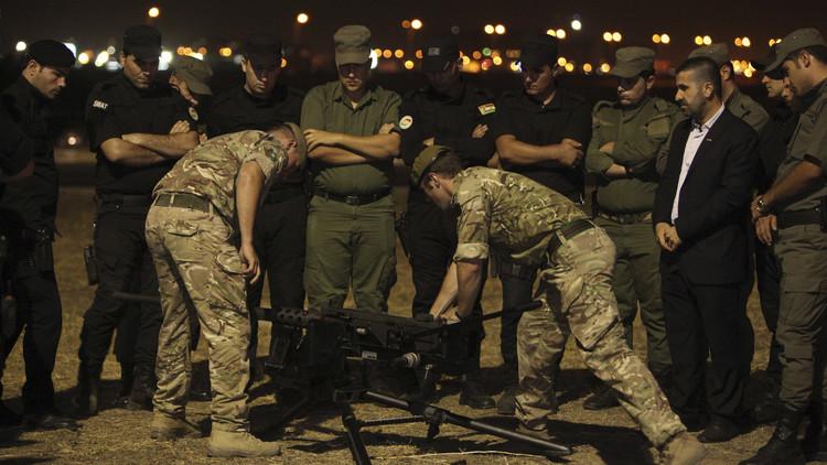 بريطانيا ترسل مزيدا من عسكرييها إلى العراق دعما لجيشه ضد داعش