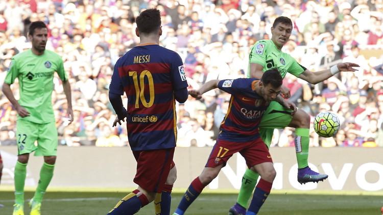 برشلونة يمطر شباك خيتافي بنصف دزينة من الأهداف.. (فيديو)