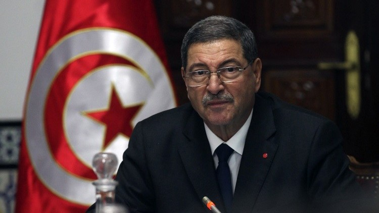 رئيس الحكومة التونسية يحث على التبرع لمكافحة الإرهاب