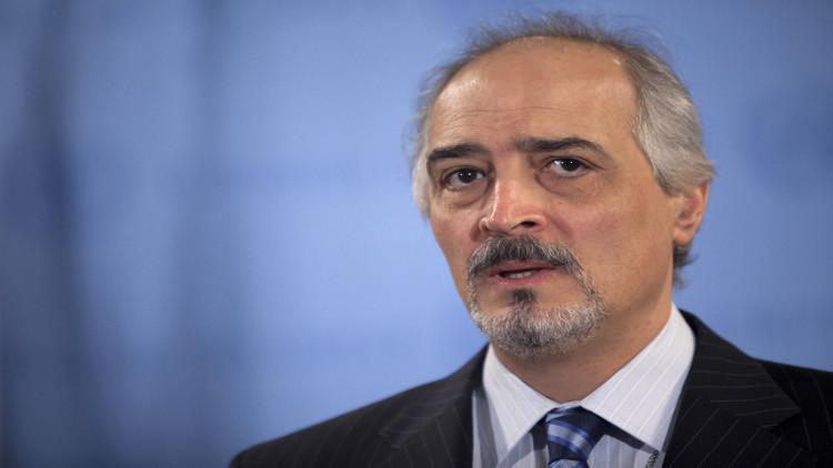 الجعفري:قدمنا لدي ميستورا مقترحاتنا بشأن الحل السياسي