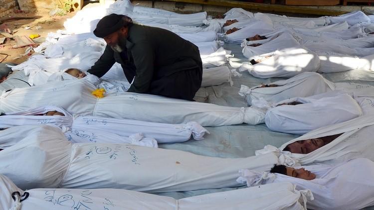 تقرير: السلاح الكيميائي استعمل 161 مرة  منذ بداية الصراع في سوريا