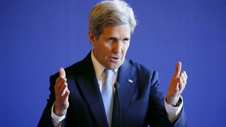 كيري: قررنا عدم التغاضي عن تنظيم داعش في ليبيا