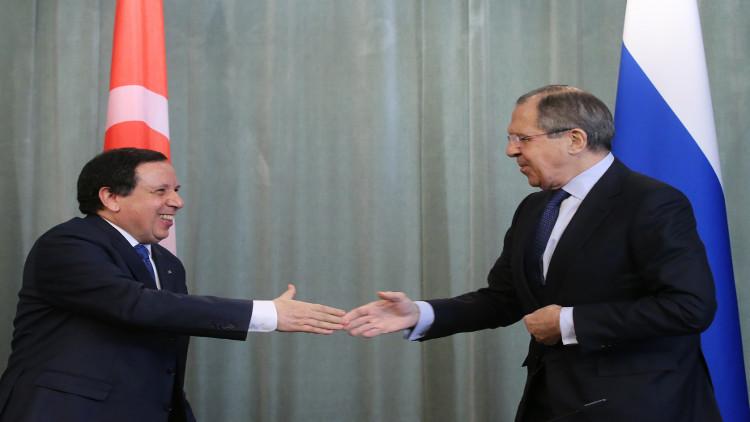 روسيا وتونس تؤكدان تعزيز التعاون في محاربة الإرهاب