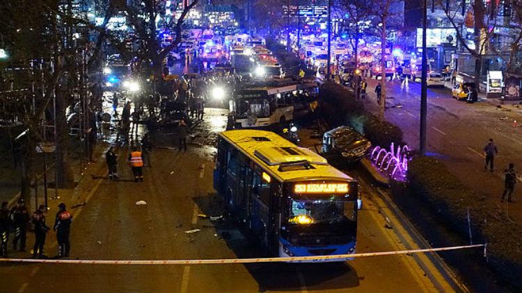هجوم جديد في أنقرة يضع المدينة في عين العاصفة