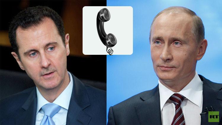 بوتين والأسد: عمل سلاح الجو الروسي حقق نقلة نوعية في مكافحة الإرهاب