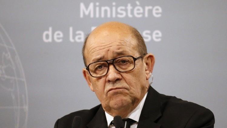 وزير الدفاع الفرنسي متخوف من