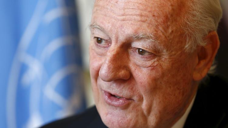 دي ميستورا: سحب القوات الروسية من سوريا سينعكس إيجابيا على عملية الانتقال السياسي بسوريا