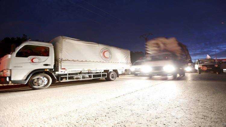 الأمم المتحدة تحاول إيصال مساعدات إنسانية إلى بلدات سورية محاصرة