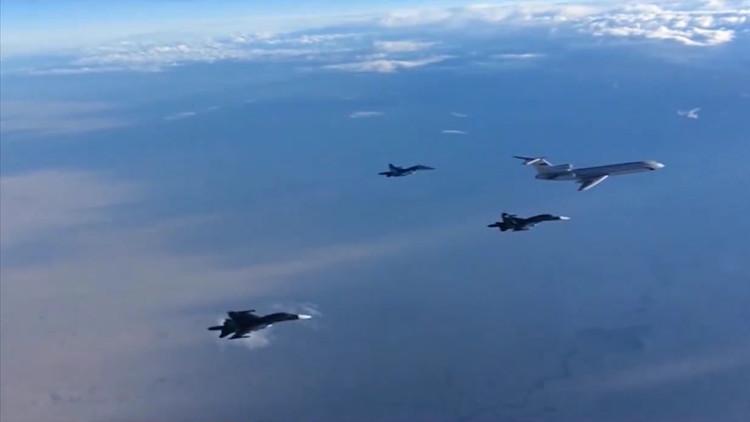 الدفعة الأولى من الطائرات الحربية الروسية تغادر سوريا